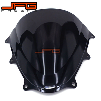 Black Windscreen Windshield for Suzuki GSXR600 GSXR750 GSXR 600 750 K11 2011-2011 2012 2013