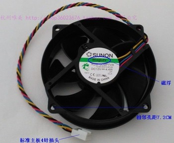 Brand new SUNON 9025 9CM 9CM KDE1209PTVX 4PIN Maglev cooling fan