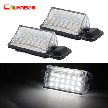 Cawanerl BMW 3 Serija E36 318i 318is 318ti 320i 323i M3 1992-1998 Automobilių Stiliaus LED Skaičius License Plate Light Kit Balta 12V