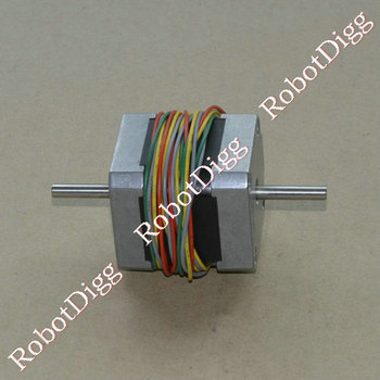 Dvigubo Veleno Nema17 48mm Stepper Motor