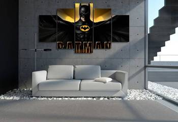 JIE DO ART HD Printed Batman Film Painting On Canvas Room Decoration Print Poster Picture Canvas