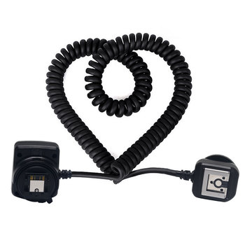 Meike MK-FA02 TTL Multi Interface Hot Shoe Flash Sync Cable Cord for Sony Camera & Speedlite