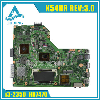 Original for ASUS X54HR Laptop motherboard X54H X54HR X54HY K54HR REV:3.0 mainboard processor i3 graphic HD 7470 tested